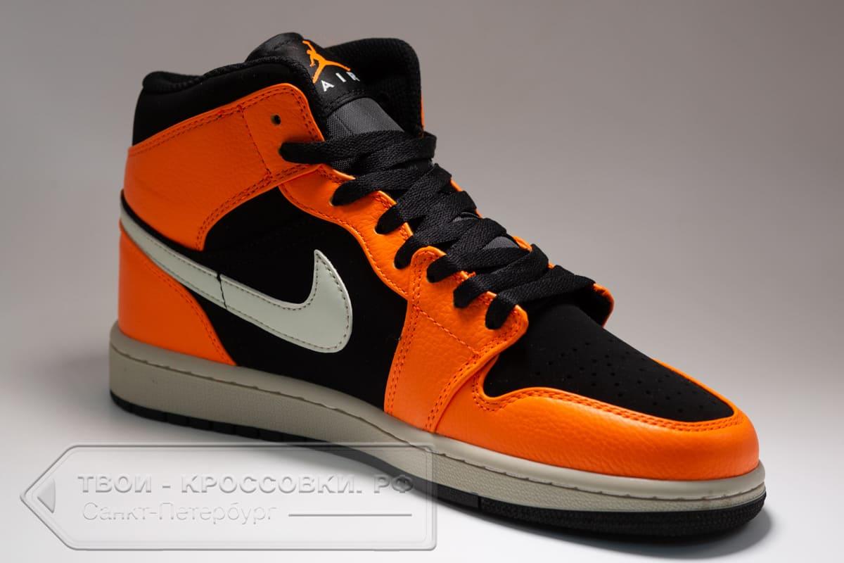 Кроссовки Nike Air Jordan 1 Mid мужские арт. N1056