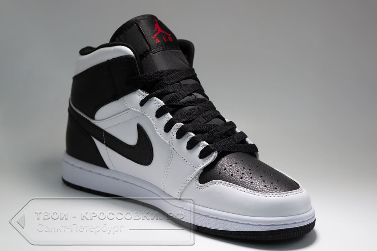 Кроссовки Nike Air Jordan 1 Mid мужские арт. N1055