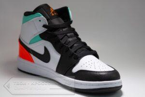 Кроссовки Nike Air Jordan 1 Mid мужские арт. N1054