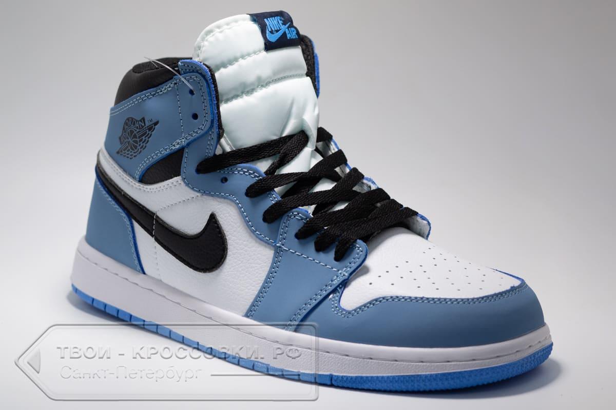 Кроссовки Nike Air Jordan 1 Mid мужские арт. N1035