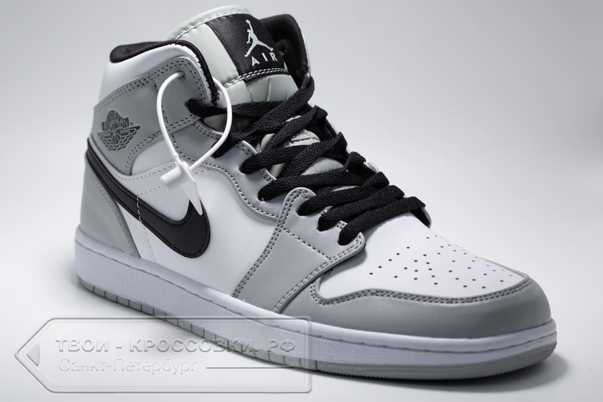 Кроссовки Nike Air Jordan 1 Mid мужские арт. N1036