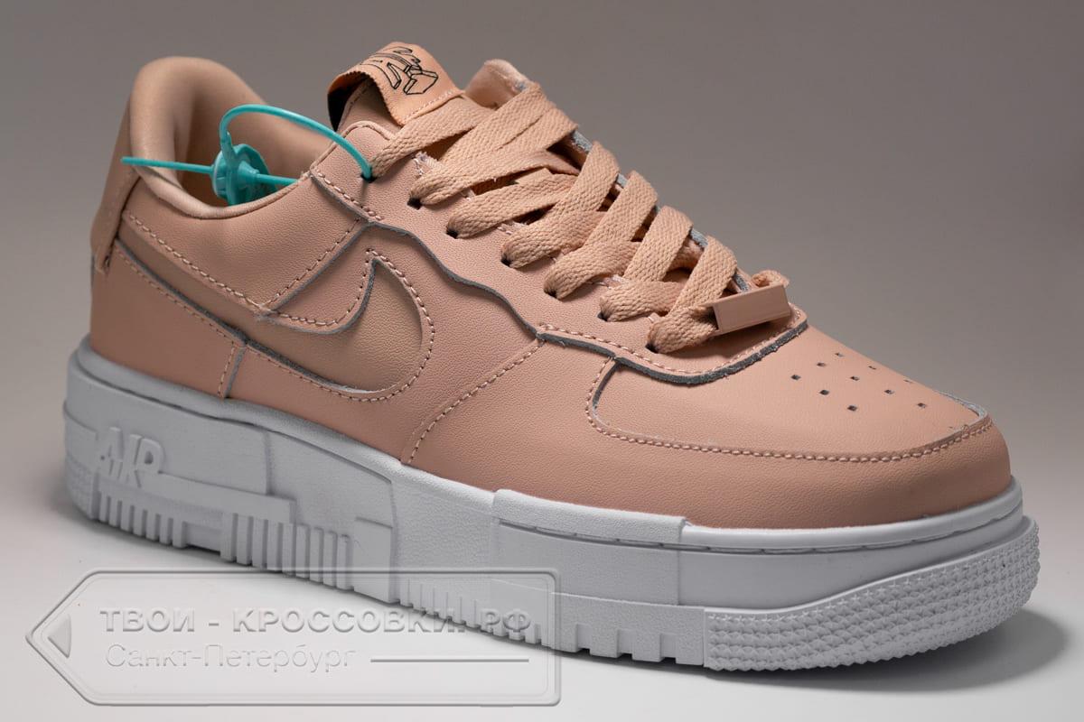 Кроссовки Nike Air Force 1 Low Pixel Peach женские арт. N1048