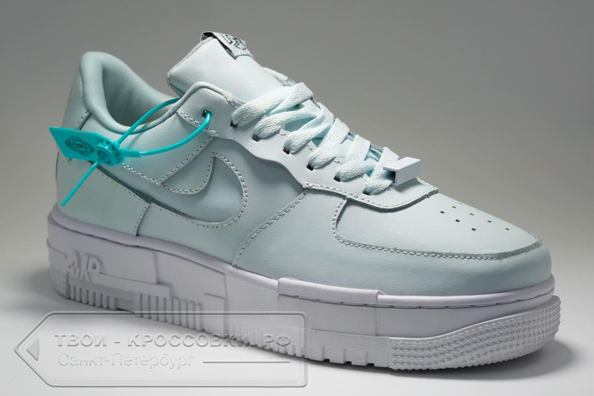 Кроссовки Nike Air Force 1 Low Pixel Mint женские арт. N1047