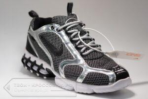 Кроссовки Nike Air Zoom Spiridon Cage 2 Black Silver мужские арт. N1078