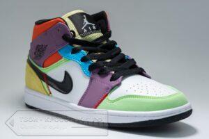 Кроссовки Nike Air Jordan 1 женские арт. N1171