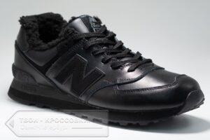 Зимние кроссовки New Balance 574 мужские арт. NB524
