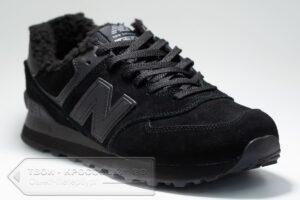 Зимние кроссовки New Balance 574 мужские арт. NB525